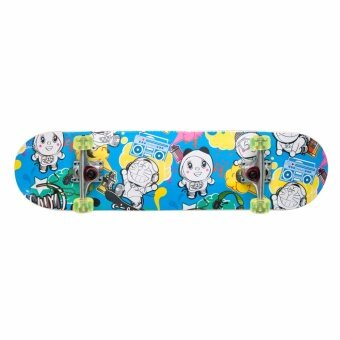 Doraemon สเก็ตบอร์ด โดราเอมอน Skateboard Doraemon 8'Deck (Blue)