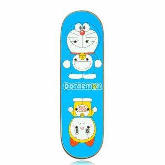 Doraemon สเก็ตบอร์ด มินิ โดราเอมอน Skateboard Doraemon MINI 6'Deck\n(Blue)