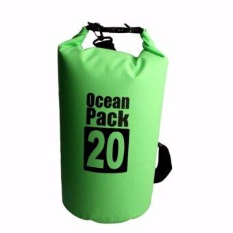 ราคา DTกระเป๋ากันน้ำ ถุงทะเล ถุงกันน้ำ ความจุ20ลิตร