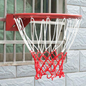 Durable Nylon Thick Thread Sports Basketball Rim Mesh Net 13Loopssport - intl