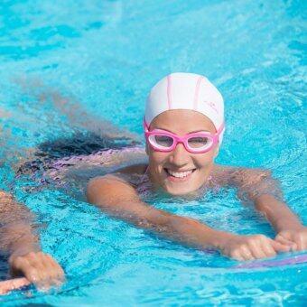 ราคา แว่นตาว่ายน้ำรุ่น EASYDOW ขนาด S (สีชมพู)