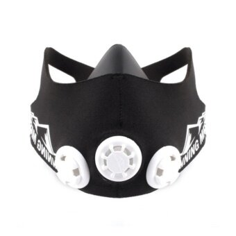 ELEVATION TRAINING MASK 2.0 M SIZE (150 - 240lbs)-mma fitness highaltitude (Black) - intl