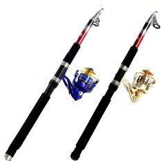 Rocker Reel Fishing Spool Vessel Fish Rod Sea Spinning Wheel Line Gear Gold .
