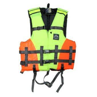 ราคา Field and Camping สนามเดินป่า ชูชีพ Safety XL ขนาด 50x53x6 ซม. สีเขียว-ส้ม