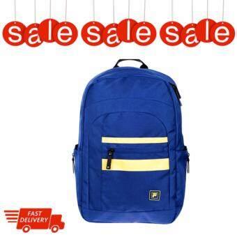 กระเป๋าเป้ กระเป๋าสะพายหลัง FILA รุ่น EDWIN สี NAVY/YELLOW