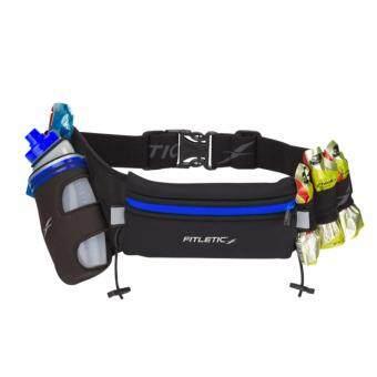 สายคาดเอว Fitletic Fully Loaded Hydration Belt สำหรับใส่ขวดน้ำขนาด 12 oz และ Energy Gel