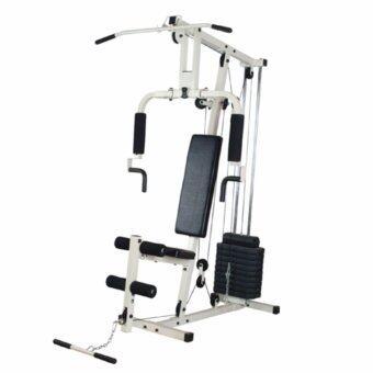 Fitmaster อุปกรณ์ฝึกกล้ามเนื้อ โฮมยิม Home Gym 1 สถานี เครื่องออกกำลังกาย รุ่น HG01 (สีขาว)