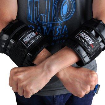 Harga FLY Suten Adjutable Hand Wrist Weights Sandbag 1-3Kg WeightTrainingfor Hands Mma Boxing Sanda Sandbag - intl