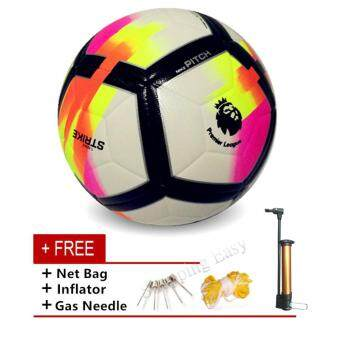 Harga Football Soccer Premier League Football PU Anti-slip Granules SportBall - intl