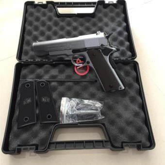 ปืนอัดแก๊ส GDM1911A1 สีเงิน