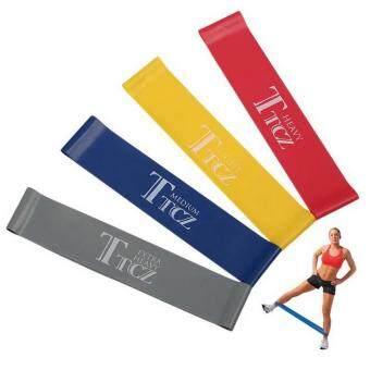 Gion - ยางยืด ออกกำลังกาย บริหารร่างกาย TTCZ Exercise Band Loop(สีเหลือง, น้ำเงิน, แดง, เทา)