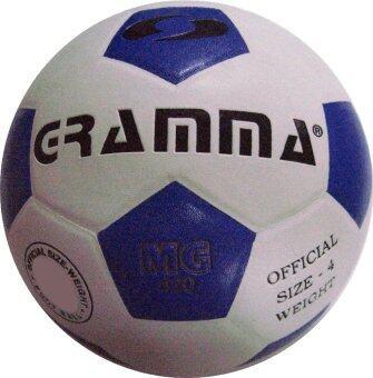 ประเทศไทย GRAMMA ฟุตบอลหนังอัด รุ่น 520 (สีขาว/น้ำเงิน)