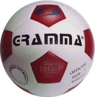 2561 GRAMMA ฟุตบอลหนังอัด รุ่น 520 (สีขาว/แดง)
