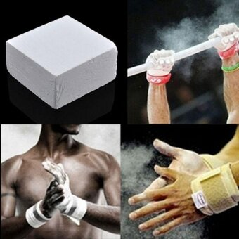 Harga Gymnastic Powder Anti-Slip Weight Lifting Climbing MagnesiumCarbonate Chalk - intl