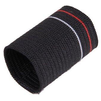 HengSong Nylon Protect Finger Case Knitting Basketball Cover Black (image 2)