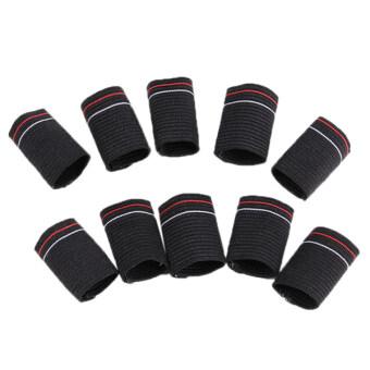 HengSong Nylon Protect Finger Case Knitting Basketball Cover Black (image 0)