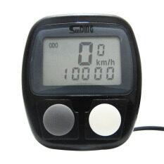 HHsociety ไมล์วัดความเร็วจักรยาน SUNDING - สีดำ