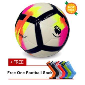 Harga High Quality Size 5 Football Ball Premier League Soccer Ball - intl