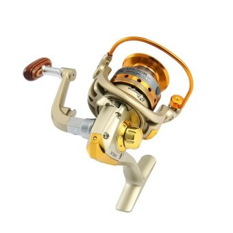 hongtai 1 Set SF2000 12 Shaft 5.5: 1 Gear Ratio Metal Fishing Wheel Fishing Wheel