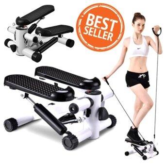 Hot item อุปกรณ์ออกกำลังกายกระชับกล้ามเนื้อ Mini Stepper Multifuntion - Black
