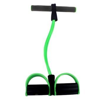 ขาย HS- Yoga equipment ดึงเชือกออกกำลังกาย อุปกรณ์เสริมเล่นโยคะ Green