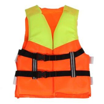 Harga Youth Kids Universal Polyester Life Jacket Swimming Boating Ski Vest - intl