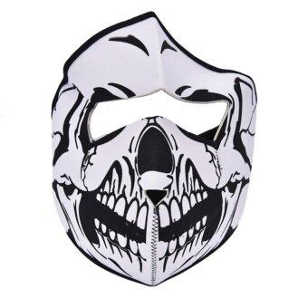 Harga Fashion Balaclava Beanies Halloween Skull Face Mask Outdoor Sports Warm Caps Cycling Motorcycle Mask Scarf Skull C Full Face - intl