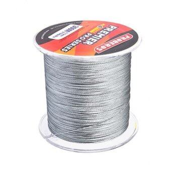 Harga MagiDeal 300M 0.26mm PE STRONG Braided Fishing Line 30LB Grey