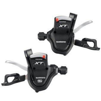 Harga New Shimano Deore XT Dyna-Sys SL-M780 Rapidfire Shifter 3or2x10-speed 30/20-sp - intl