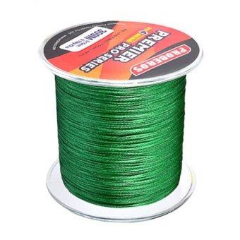 Harga MagiDeal 300M 0.26mm STRONG Braided Fishing Line 30LB PEGreen