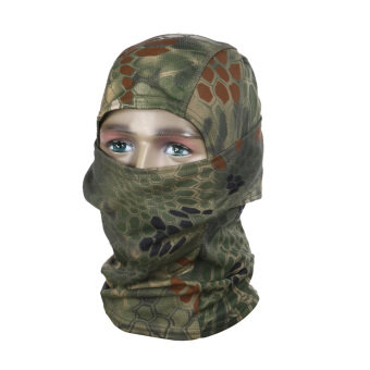Harga Motorcycle Neck Cover Winter Ski Bike Cycling Face Mask Cap Tactical Scarf - intl