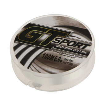 Harga Strong Monofilament Nylon Fishing Line Transparent 100M 0.40mm Diameter 27.1LB