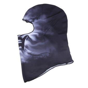 Harga Motorcycle Balaclava Neck Cover Ski Bike Cycling Full Face Mask(BB-22) - intl