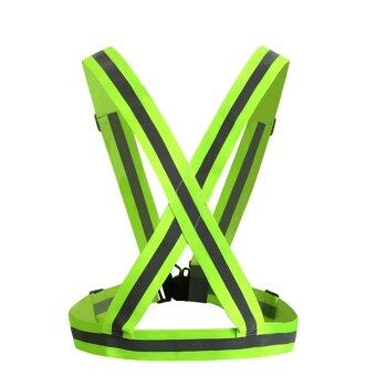 Harga Acediscoball Reflective Safety Vest Sports Gear