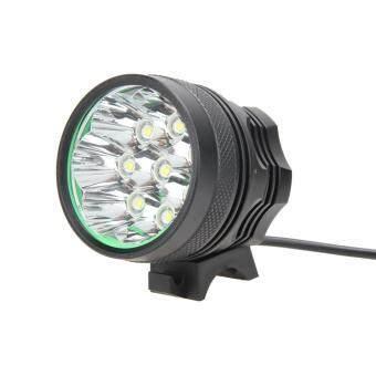 Harga 15000lumen 8x CREE XML T6 LED Bike Bicycle Light Headlight + Rear Light - intl
