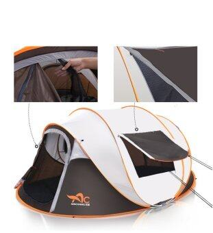 Harga 5-8 People Automatic Speed Tents Outdoor Beach Home Camping Tents - intl