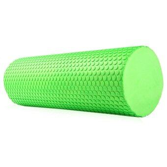 Harga 3.93 inches EVA Yoga Pilates Fitness Exercise Massage Gym Foam Roller Green