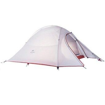 Harga Ultralight Naturehike Fabric 2 Person Double Layers Aluminum Rod Tent - intl