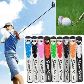 Harga Golf Club PU Grip Wrap Ultralight Slim Non-slip Golfer Training Aid Accessory