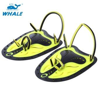 Harga Whale Paired Unisex Swimming Adjustable Paddles Fins Webbed Training Pool Diving Neoprene Hand Gloves