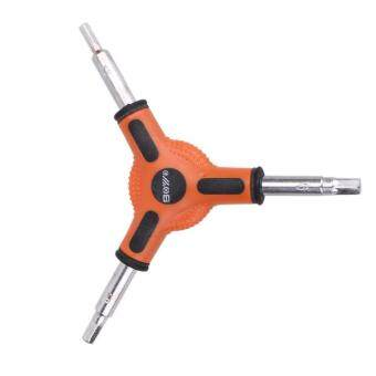 Harga Cycling 3 Way (Y Type) Hex Allen Wrench Tool Size 4 5 6mm - intl