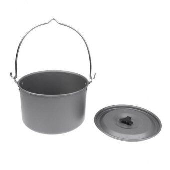 Harga MagiDeal Large Picnic Camping Hanging Pot Cookware Boil Water Cooking for 6-8 People - intl