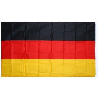 Harga 5 x 3 Feet Polyester Germany National Flag Country Banner