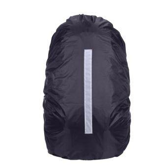 Harga 20-45L Reflective Waterproof Rain Dust Backpack Bag Cover Safety Travel - intl