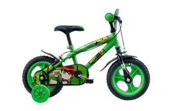 "Harga LA Bicycle จักรยาน 12 "" BEN 10 - Green"