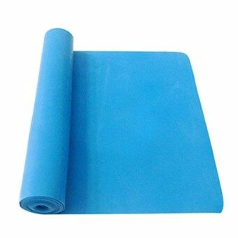 Harga 2pcs 1.5m Exercise Pilates Yoga Dyna Resistance Abs Workout Physio Aerobics Stretch Band Blue