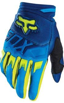 Harga FOX DIRTPAW RACE GLOVE BLUE/YELLOW