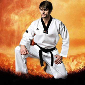 Harga Taekwondo Uniform Twill Cotton Fabric for kids/adults/men/wonmen Tae Kwon Do - intl