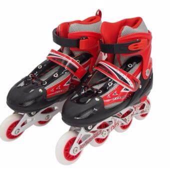 ซื้อ/ขาย Inline Skate รองเท้าสเก็ต โรลเลอร์เบลด โรลเลอร์สเก็ต สเก็ต Size L [39-43] สีแดง