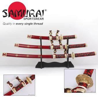 ซื้อ/ขาย JAPAN ดาบชุดญี่ปุ่น ซามูไร คาตานะ มี 3 เล่ม 3 ขนาด(KATANA SAMURAI NINJA SWORD)+แท่นวาง